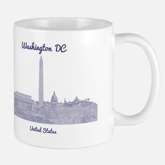 WashingtonDC_8In12_button_Blue Mug