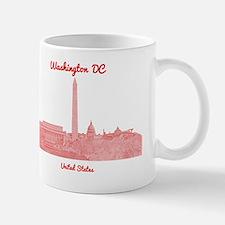 WashingtonDC_8In12_button_Red Mug