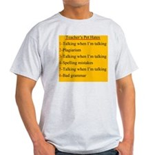 Pet Hates 1 YELLOW T-Shirt