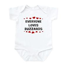 Loves: Buzzards Infant Bodysuit