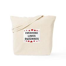 Loves: Buzzards Tote Bag