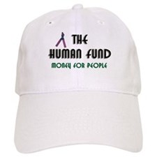 Ladies Human Fund Money For People Baseball Cap Seinfeld