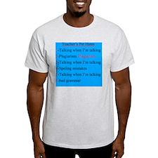 Pet Hates 2 BLUE 2 T-Shirt