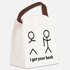 gotYourBack1A Canvas Lunch Bag