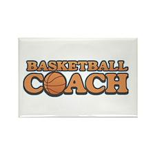 Basketball Coach Rectangle Magnet