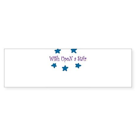Wish Upon A Star Bumper Sticker