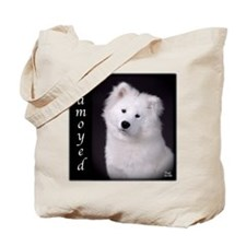 Samoyed Tote Bag-two different images, pup & adult