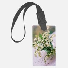 Lily of the valley (Convallaria  Luggage Tag
