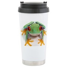 Female frog Travel Mug