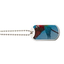 Green-winged Macaw Dog Tags