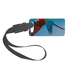Green-winged Macaw Luggage Tag