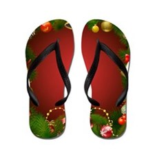 Xmas Decorations 2 Flip Flops