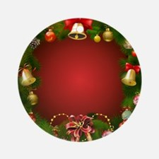 Xmas Decorations 2 Round Ornament