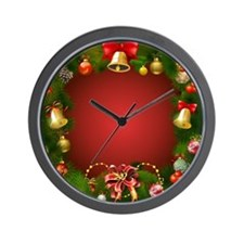 Xmas Decorations 2 Wall Clock