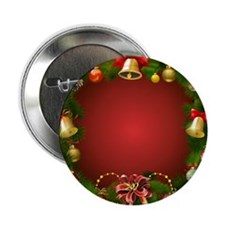 "Xmas Decorations 2 2.25"" Button"