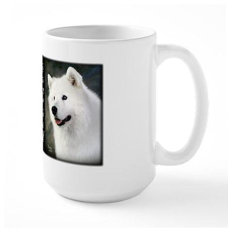 Samoyed Large Mug