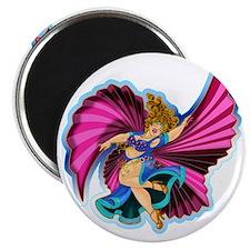 Big-n-Beautiful Winged dancer fair complexi Magnet