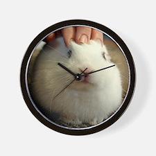 January - Bunny Bliss Wall Clock