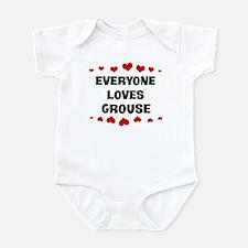 Loves: Grouse Infant Bodysuit