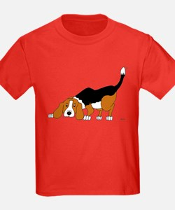 Sniffing Hunting Beagle T