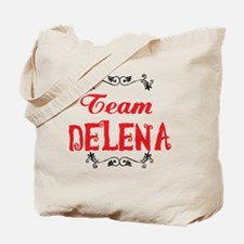 Vampire Diaries Team Delena Tote Bag