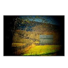 Shenandoah Barn Postcards (Package of 8)