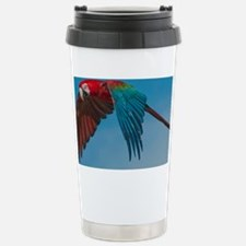 Green-winged Macaw Stainless Steel Travel Mug