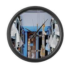 Justi's superconductivity experim Large Wall Clock