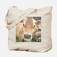 Jersey Cow Face Tote Bag