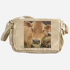Jersey Cow Face Messenger Bag