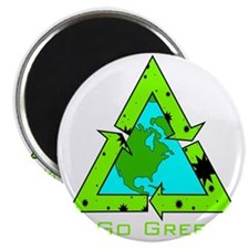 Green Earth Magnet