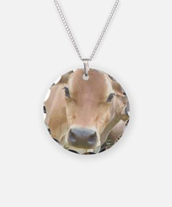 Jersey Cow Face Necklace