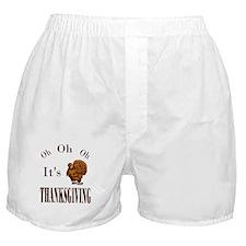 Its Thanksgiving! Boxer Shorts