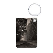 Fog in blue ridge parkway  Keychains