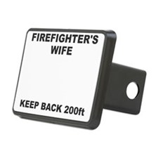 Firefighters Wife Hitch Cover