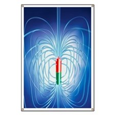 Magnetic field Banner