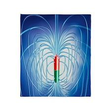 Magnetic field Throw Blanket