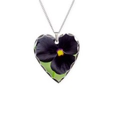 Pansy (Viola wittrockiana) Necklace