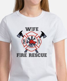 Fire Fighters Wife Tee
