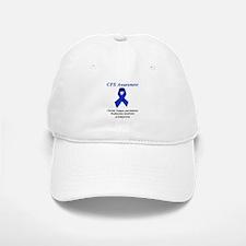 CFS Awareness blue ribbon Baseball Baseball Cap