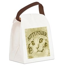 Kitty Power Canvas Lunch Bag
