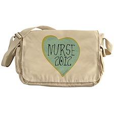Nurse 2012 Heart Messenger Bag