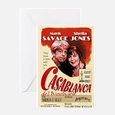 Casablanca del Woolwich Greeting Card