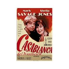 Casablanca del Woolwich Rectangle Magnet