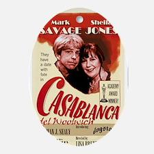 Casablanca del Woolwich Oval Ornament