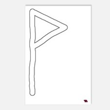 Wunjo Rune Meaning Joy  E Postcards (Package of 8)