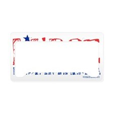 Nurse Made in America License Plate Holder