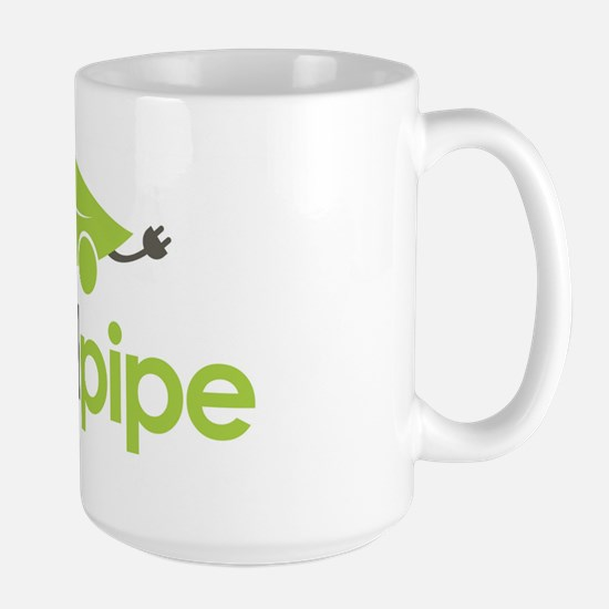 No Tail Pipe Large Mug