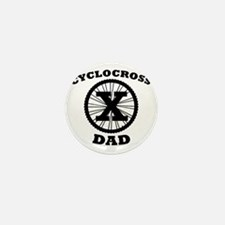Cyclocross Dad Mini Button