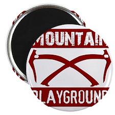 Mountain Playground Magnet